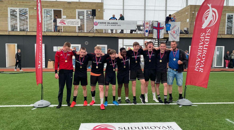 H71a vann spennandi finalu hjá U16 dreingjum